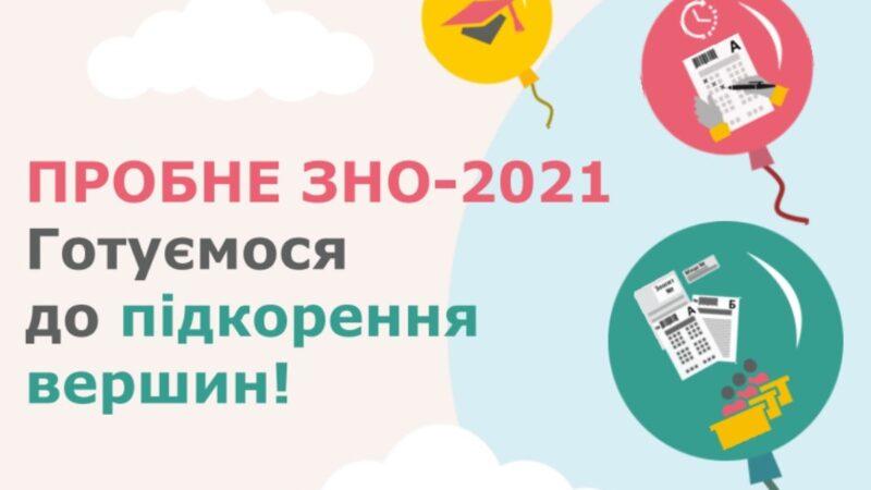 Пробне ЗНО 2021